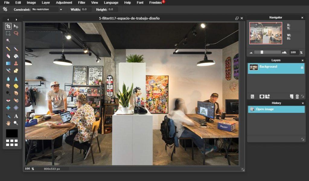 Software-ul de editare a fotografiilor