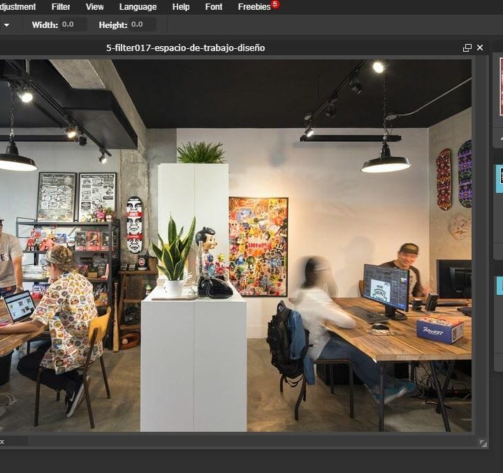 Software gratuit de editare  fotografii