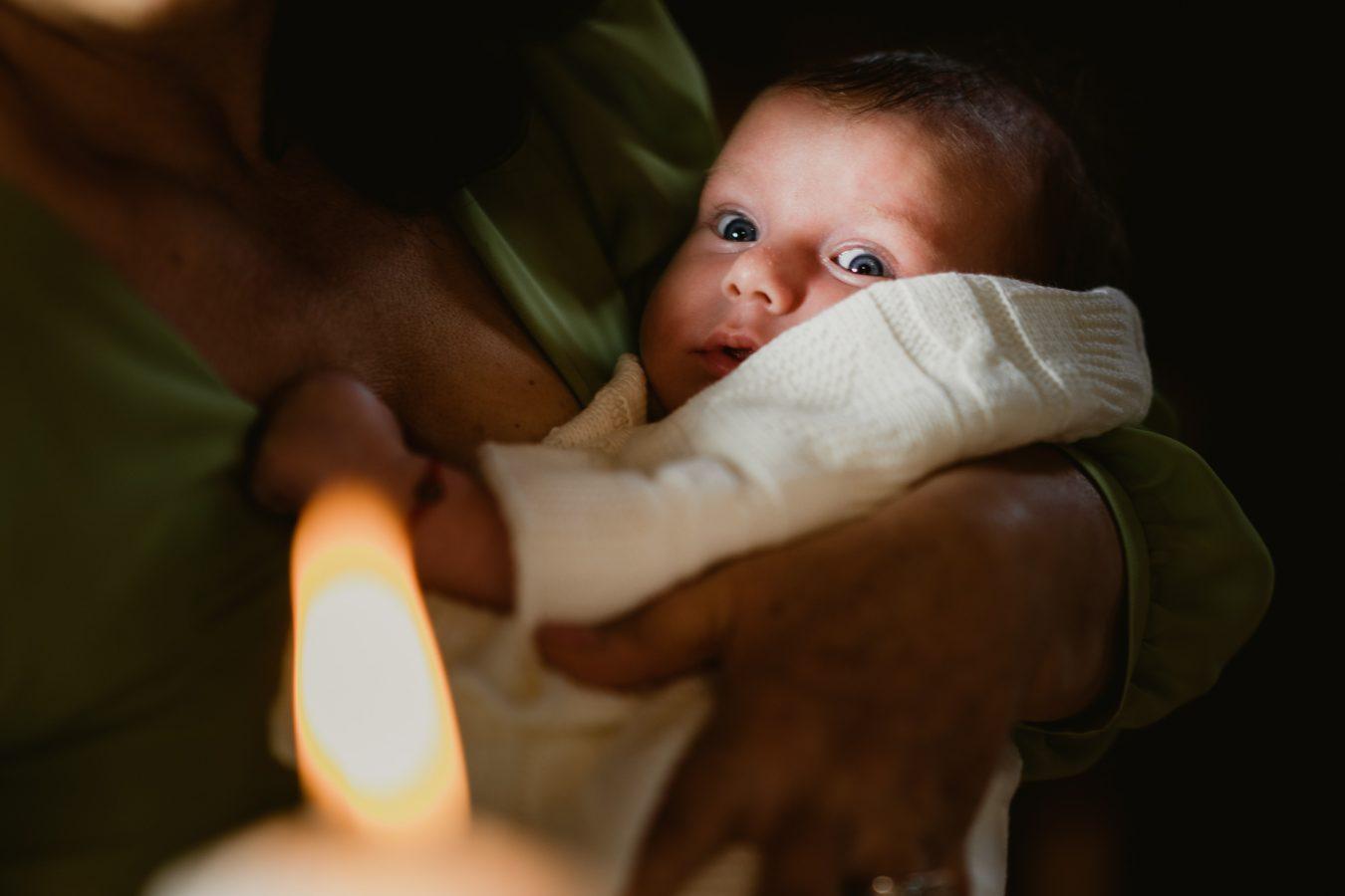 copil botez biserica
